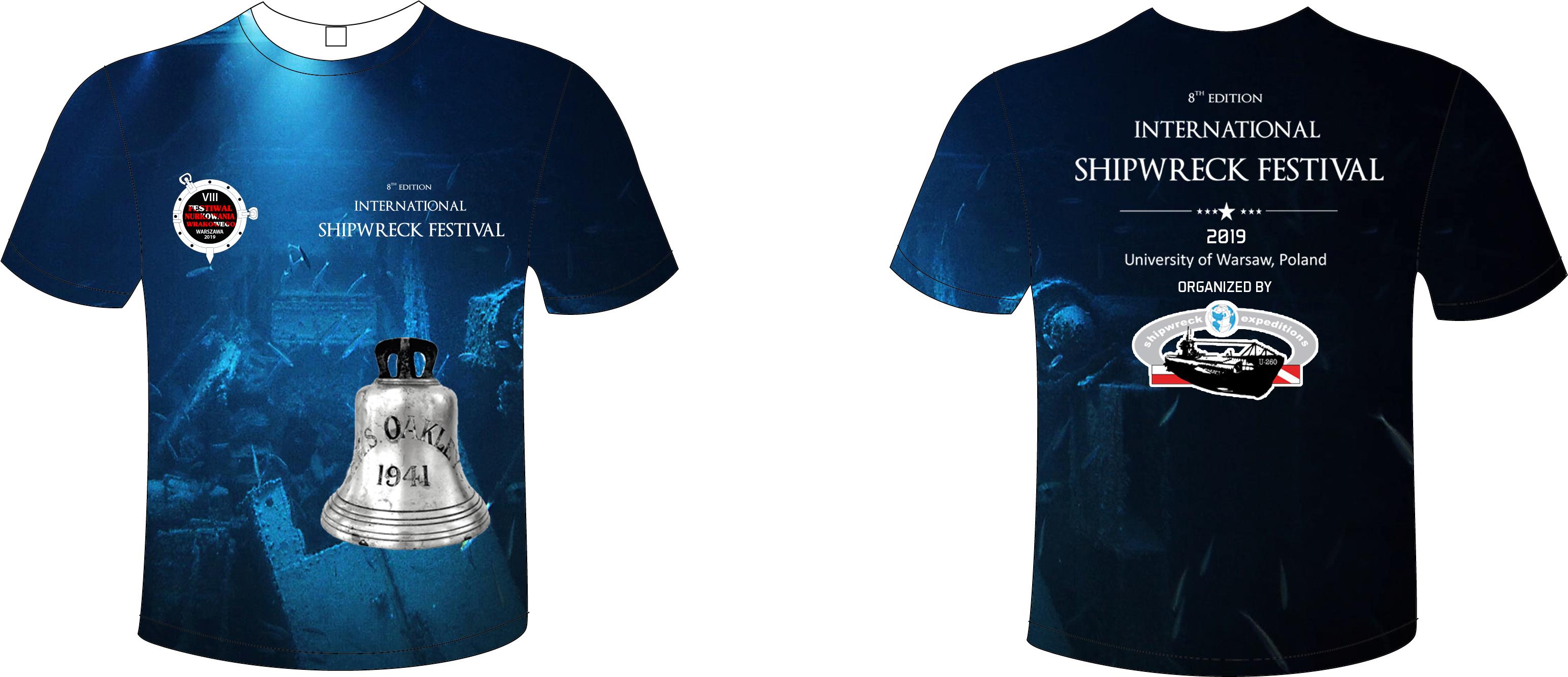 Zaktualizowano International Shipwreck Festival 2019 - VIII Międzynarodowy OZ11